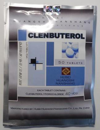 Clenbuterol Hubei 40mcg (50 tab)
